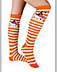 Hello Kitty Witch Adult Knee High Socks