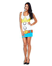 Toy Story Jessie Tank Dress Womens Costume