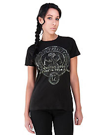 Black District 12 T Shirt - The Hunger Games