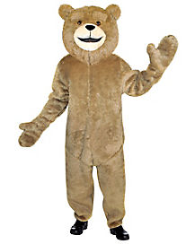 Adult Bear One Piece Costume - Ted