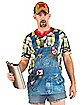 Faux Real Hillbilly Adult Men's Costume