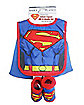 Superman Caped Bib Set