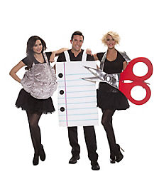 Adult Rock Paper Scissors Costume