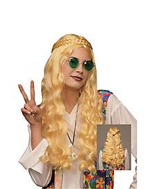 Blonde Hippie Wig