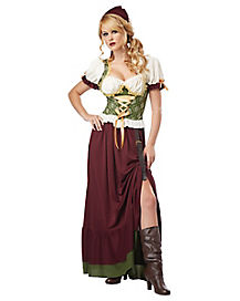 Renaissance Wench Adult Womens Costume