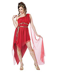 Ruby Goddess Adult Womens Costume