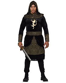 Adult Dark Medieval Knight Costume