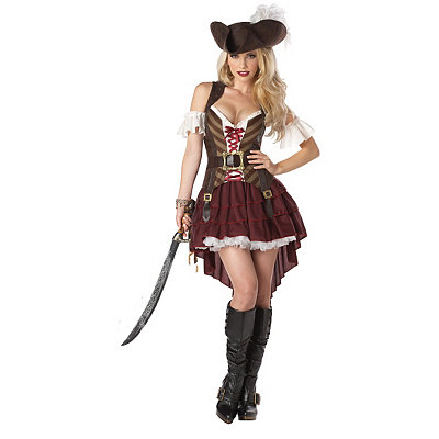Adult Sexy Swashbuckler Pirate Costume