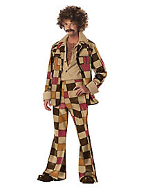 Adult Disco Sleazeball 70s Costume