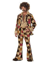 Adult Disco Sleazeball 70s Costume