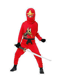 Kids Avenger Red Ninja Costume