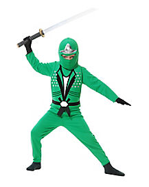 Kids Green Avenger Ninja Costume