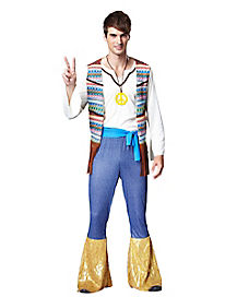 Hippie Vest Mens Costume