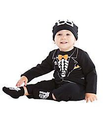 Baby Skeleton Tux Costume