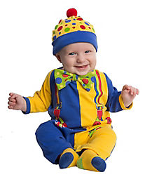 Baby Clownin' Around Clown Costume