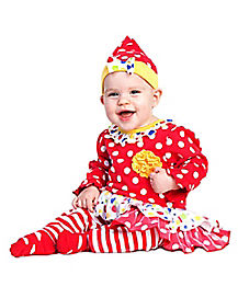 Baby Cutsie Clown Costume