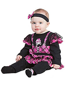 Baby Punk Princess Costume
