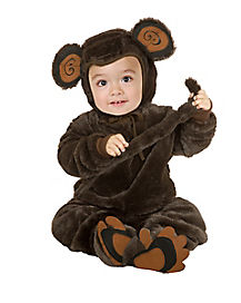 Baby Little Monkey One Piece Costume