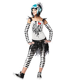 Kids Skela Bella Skeleton Costume