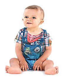 Baby One Piece Hillbilly Costume