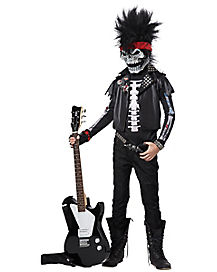 Dead Man Rockin Child Costume