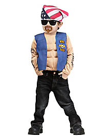 Mini Biker Toddler Costume