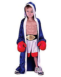 Toddler Lil' Champ Boxer Costume
