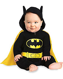 Baby One Piece Caped Batman Costume - DC Comics
