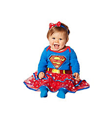Supergirl Caped Dress Baby Costume