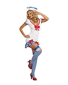 Sailor Pinup Adult Womens Costume