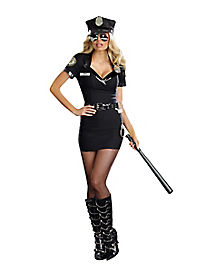 Adult Lay Down The Law Police Costume