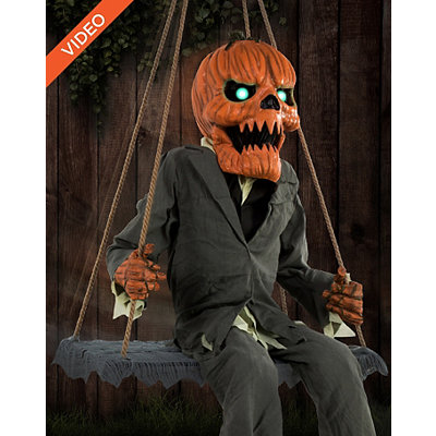 Pumpkin Nester Animated Decoration