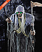 6.5 Ft Sickening Reaper Animatronics - Decorations