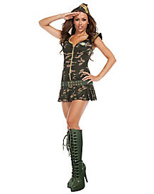 Cute Recruit Adult Womens Costume