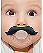 Gentleman Black Mustache Pacifier