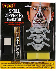 Skull Zipper Makeup Kit