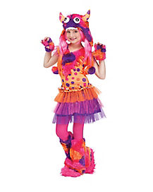 Wild Child Monster Girls Costume