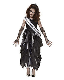 Zombie Prom Queen Girls Costume