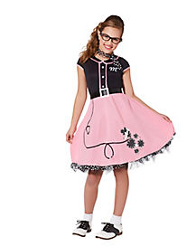 Kids Sock Hop Darling Costume