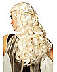Blonde Dragon Princess Wig