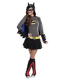 Batgirl Hoodie Girls Costume