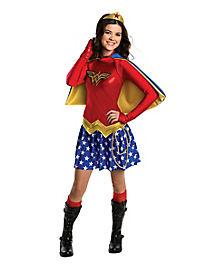 Kids Wonder Woman Costume - DC Comics