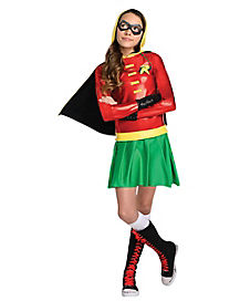 Kids Robin Hoodie Costume - Batman