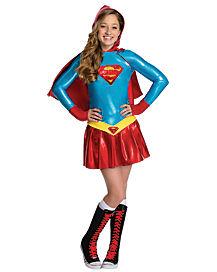 Supergirl Hoodie Girls Costume