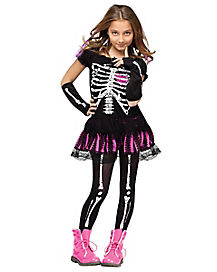 Kids Sally Skully Costume