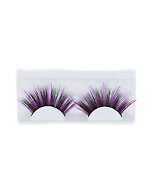 Purple Black False Eyelashes