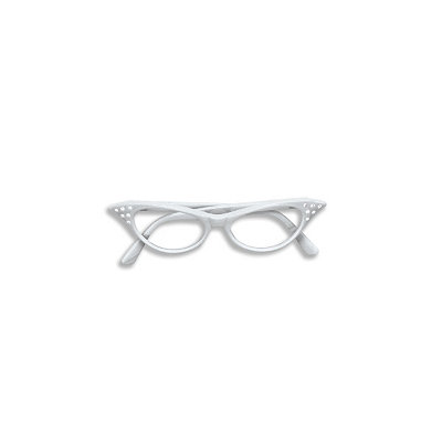 1950s Costumes Rhinestone Cat Eye Glasses $7.99 AT vintagedancer.com