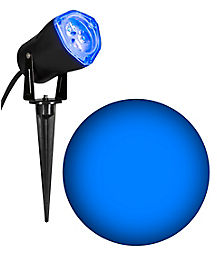 Blue LED Strobe Spot Light