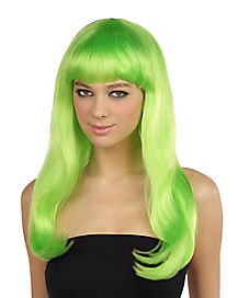 Green Monster Wig