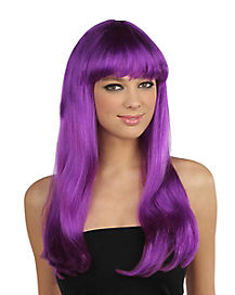 Purple Monster Wig
